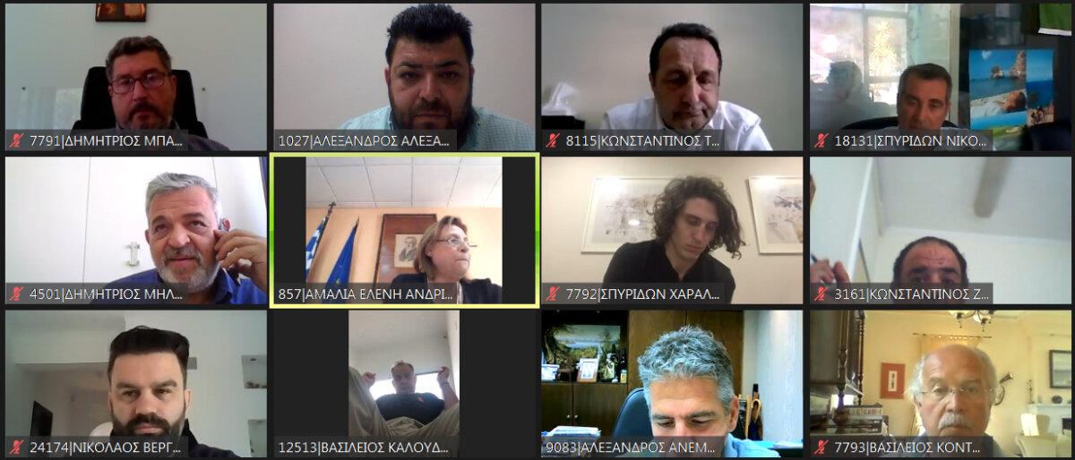 Κέρκυρα – Τουρισμός  | Τηλεδιάσκεψη αναφορικά με την εφαρμογή των υγειονομικών πρωτοκόλλων