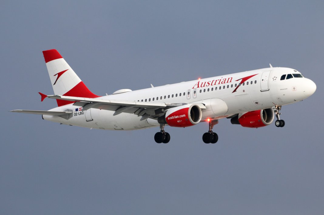 Από αρχές Ιουλίου οι πτήσεις της Austrian προς Κέρκυρα κ' Ζάκυνθο