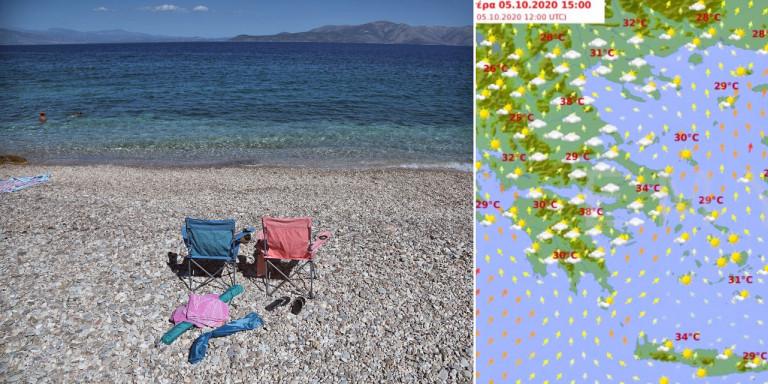 Καιρός: Και μετά τις βροχές έρχεται κύμα ζέστης -Τριήμερο για… παραλία, με 38άρια [χάρτες]