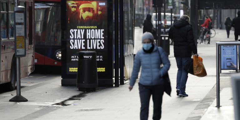 Κορωνοϊός -Βρετανία: Περνά στη δεύτερη φάση εμβολιασμών με τους 70 άνω