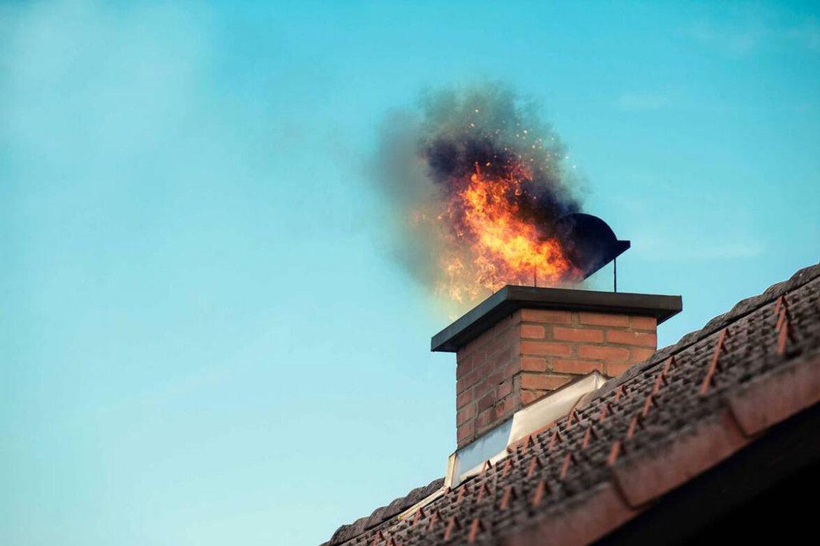 Φωτιά σε καμινάδα σπιτιού στους Κυνοπιάστες