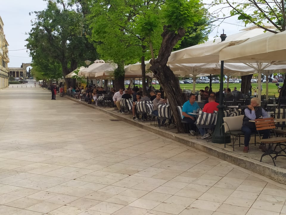 Εστίαση: Δικαίωση για πάνω από 40.000 επιχειρήσεις που άνοιξαν- Κέρκυρα   Σημαντική κίνηση